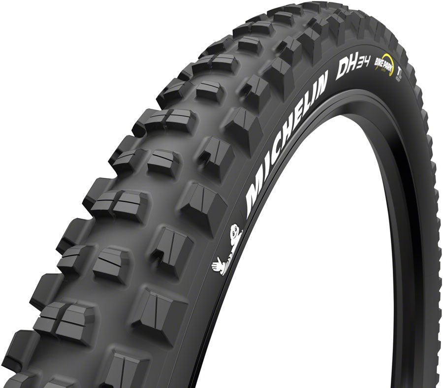 Michelin DH34 Bike Park Tire - 27.5 x 2.4, Tubeless, Wire, Black