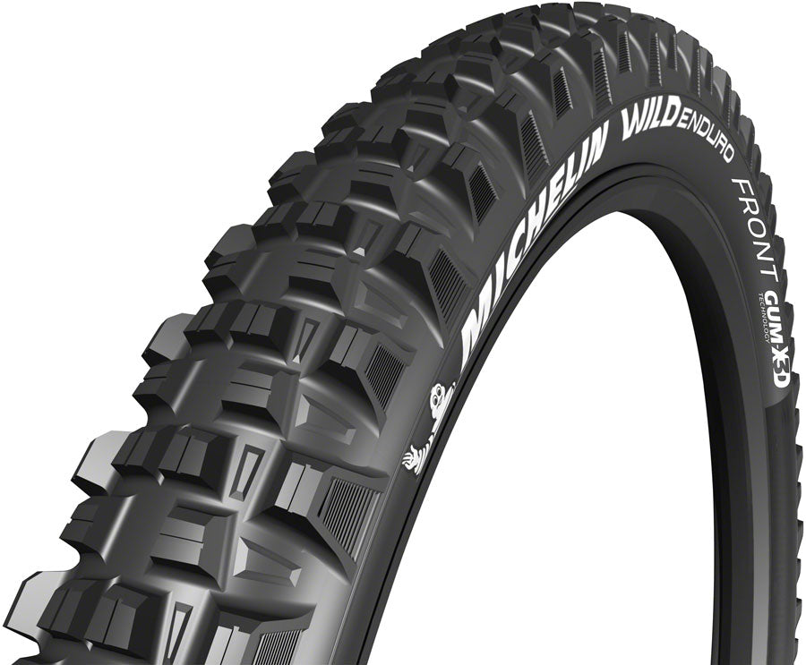 Michelin E-Wild Tire - 27.5 x 2.6, Tubeless, Folding, 60tpi, Black, Front, E-Bike