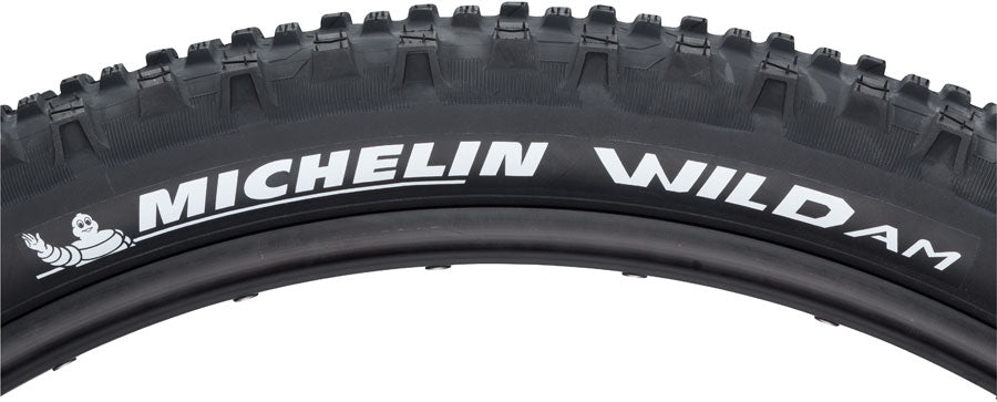 Michelin Wild AM Tire - 27.5 x 2.8, Tubeless, Folding, Black, 58tpi, E-Bike