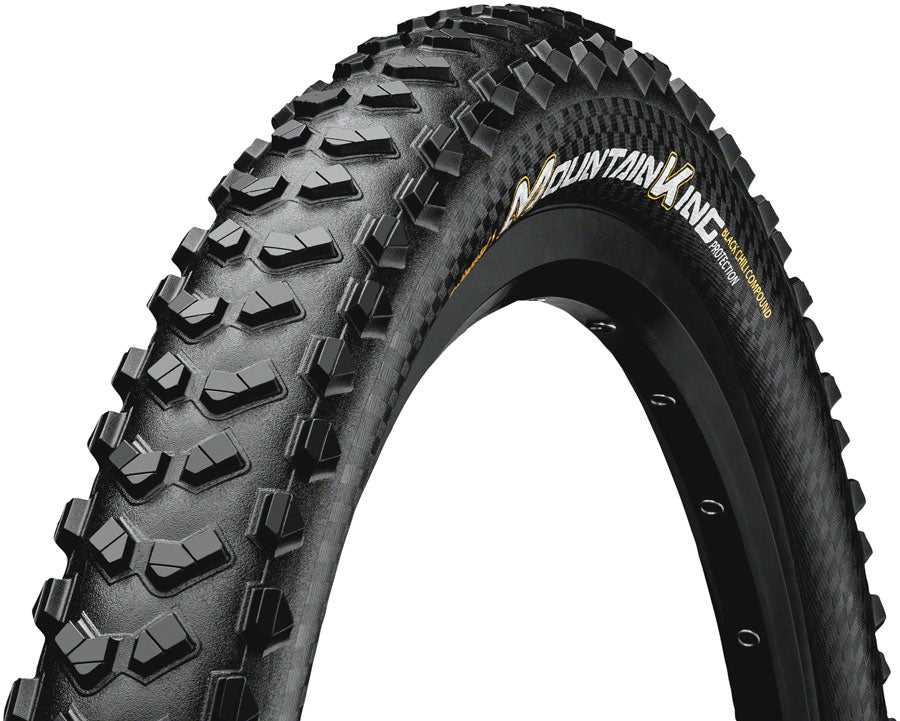 Continental Mountain King ProTection Tire - 29 x 2.3, Tubeless, Folding, Black, 240tpi