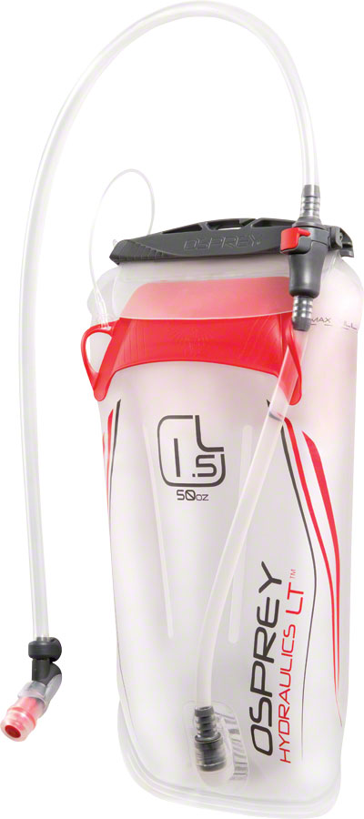 Osprey Hydraulics LT Replacement Resevoir: 1.5 Liter, Red - Replacement Reservoir - Hydraulics LT