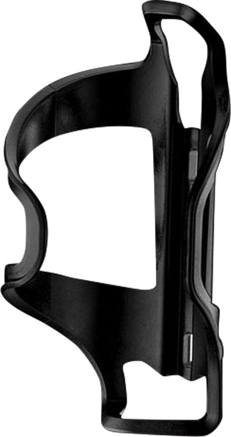 Lezyne Flow Bottle Cage Side Loader Left-hand: Black