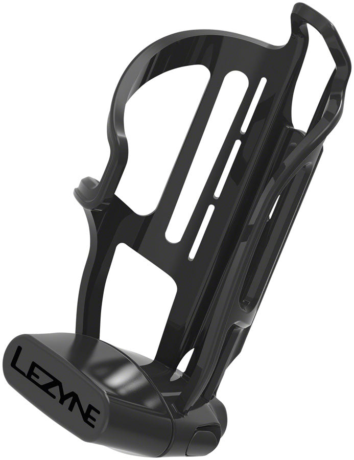 Lezyne Flow Storage Water Bottle Cage, Right Hand Loading, Black