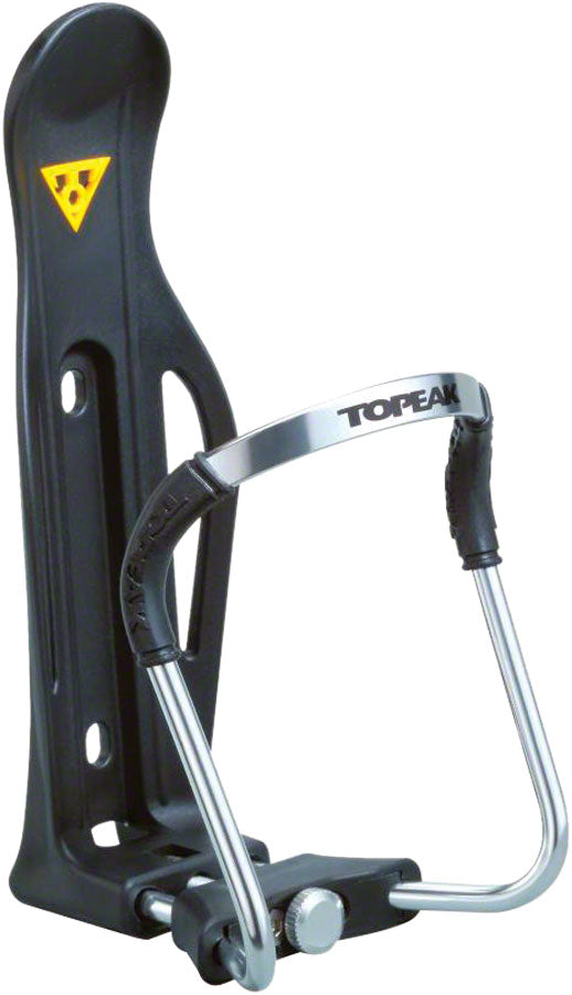 Topeak Modula II Alloy Quick Adjust Water Bottle Cage: Black MPN: TMD06B UPC: 883466004801 Water Bottle Cage Modula II