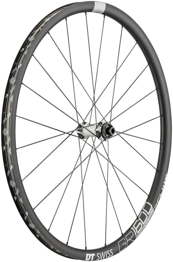 DT Swiss GR 1600 Front Wheel - 650b, 12/QR x 100mm, Center-Lock/6-Bolt, Black