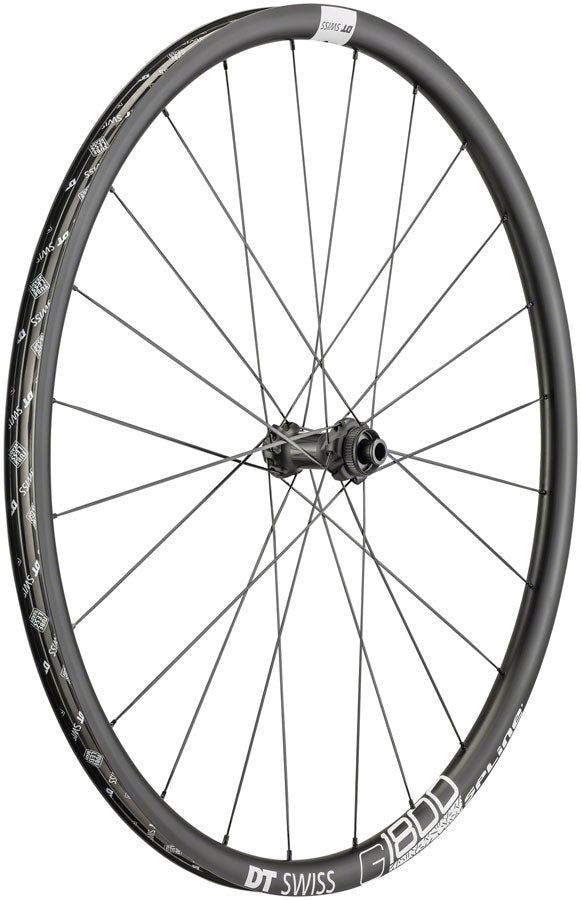 DT Swiss G 1800 Front Wheel - 700, 12/QR x 100mm, Center-Lock/6-Bolt, Black
