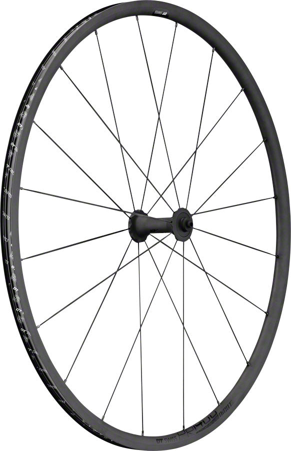 DT Swiss PR 1400 Dicut Oxic Front Wheel - 700, QR x 100mm, Rim Brake, Black