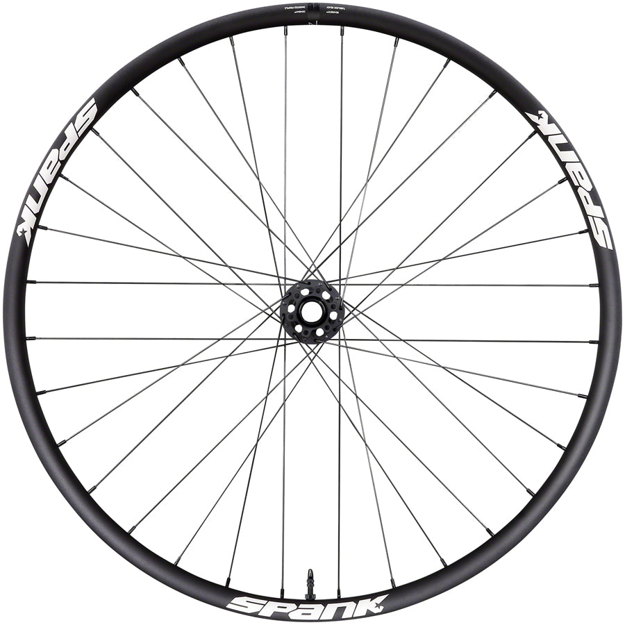 "Spank Spike Race 33 Front Wheel - 27.5"", 15 x 110mm Boost, 6-Bolt, Black MPN: C090922F20J220A Front Wheel Spike Race 33 Front Wheel"