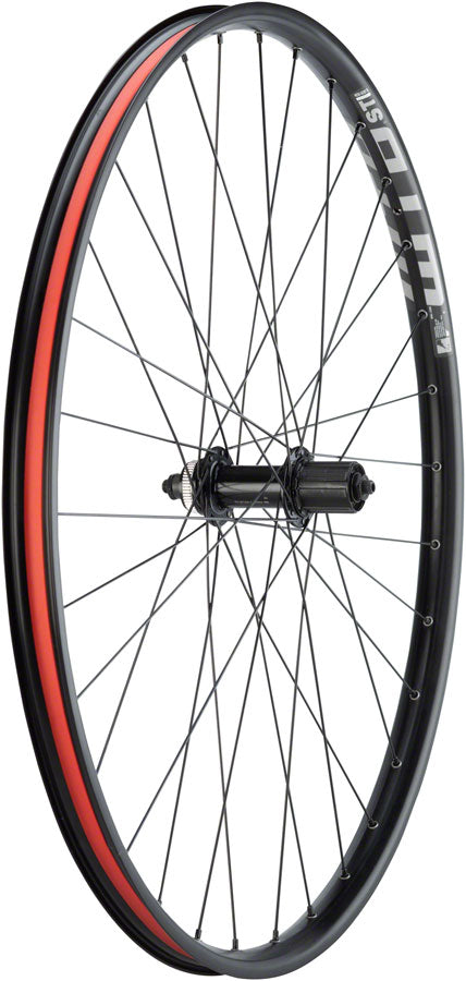"Quality Wheels WTB ST Light i29 Rear Wheel - 29"", QR x 141mm, Center-Lock, HG 10, Black - Rear Wheel - WTB ST Light i29 Rear Wheel"