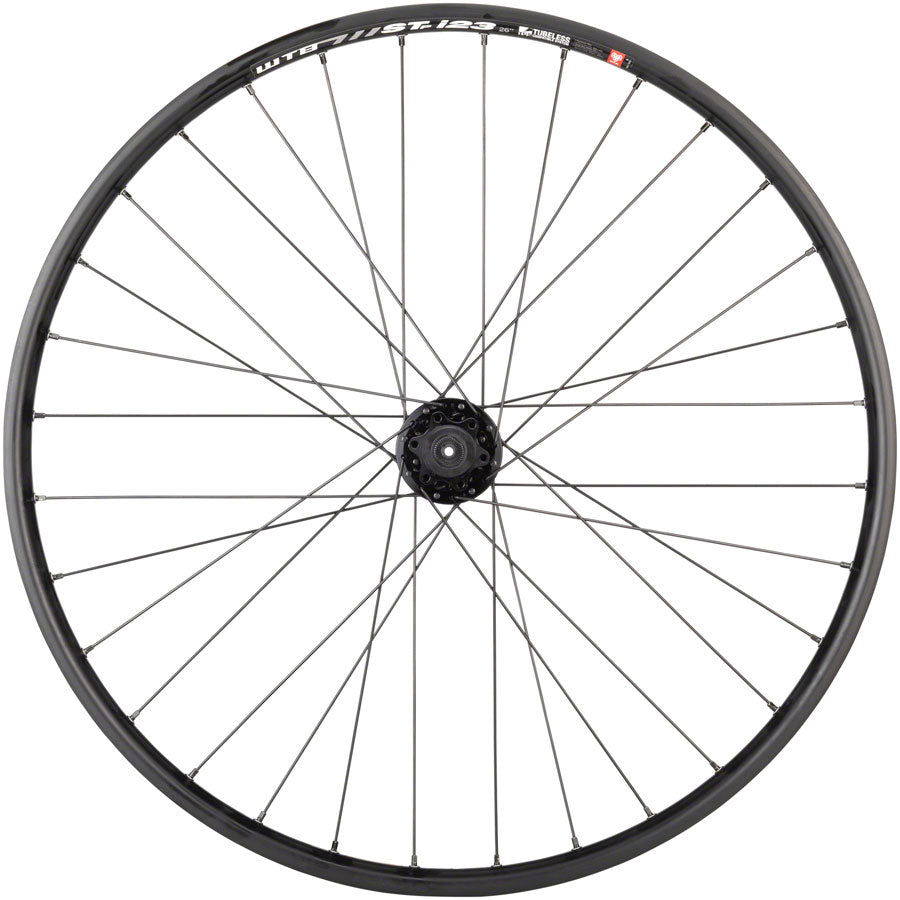 "Quality Wheels Mountain Disc Rear Wheel 26"" 135mm QR 6-bolt / WTB ST i23 Tubeless Black 32h UPC: 708752239210 Rear Wheel SRAM / WTB Rear Wheel"