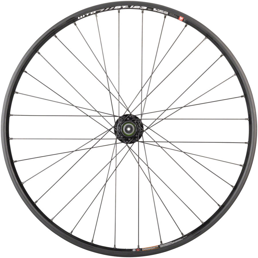 "Quality Wheels Mountain Disc Rear Wheel 26"" 135mm QR 6-bolt / WTB ST i23 Tubeless Black 32h - Rear Wheel - SRAM / WTB Rear Wheel"