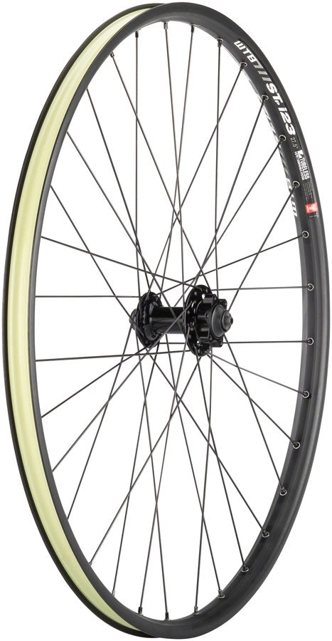 "Quality Wheels Mountain Disc Front Wheel 27.5"" 32h 100mm QR 6-bolt / WTB ST i23 Tubeless Black - Front Wheel - SRAM / WTB Front Wheel"