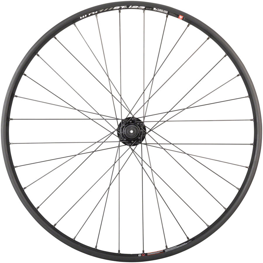 "Quality Wheels Mountain Disc Front Wheel 27.5"" 32h 100mm QR 6-bolt / WTB ST i23 Tubeless Black UPC: 708752239234 Front Wheel SRAM / WTB Front Wheel"