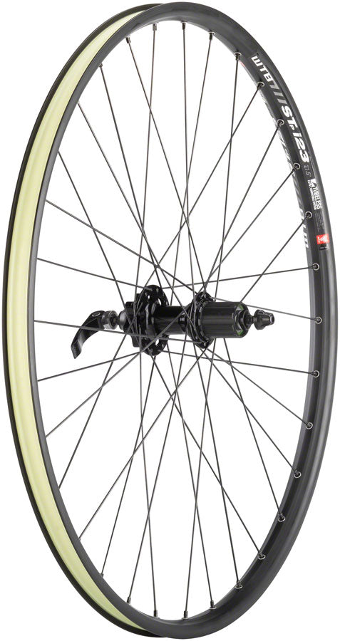 "Quality Wheels Mountain Disc Rear Wheel 27.5"" 32h 135mm QR 6-bolt / WTB ST i23 Tubeless Black - Rear Wheel - SRAM / WTB Rear Wheel"