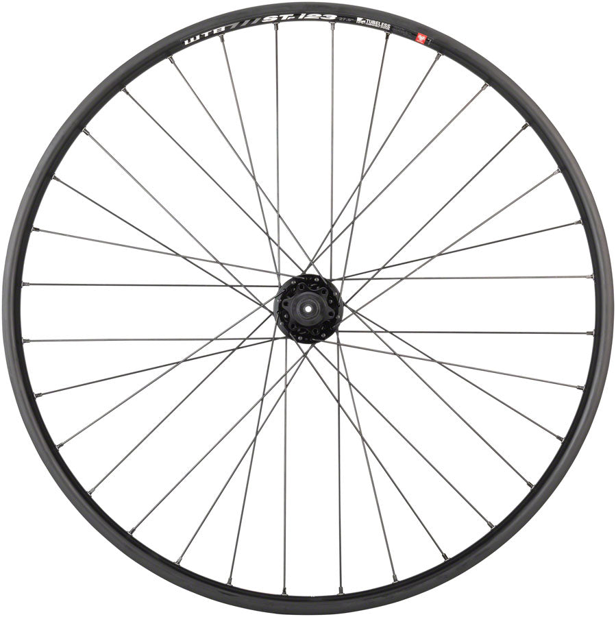 "Quality Wheels Mountain Disc Rear Wheel 27.5"" 32h 135mm QR 6-bolt / WTB ST i23 Tubeless Black UPC: 708752239258 Rear Wheel SRAM / WTB Rear Wheel"