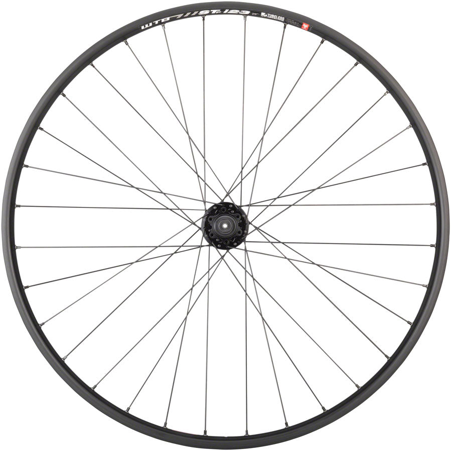 "Quality Wheels Mountain Disc Front Wheel 29"" 100mm QR 6-bolt / WTB ST i23 Tubeless Black 32h - Front Wheel - SRAM / WTB Front Wheel"