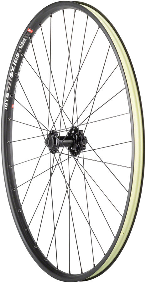 "Quality Wheels Mountain Disc Front Wheel 29"" 100mm QR 6-bolt / WTB ST i23 Tubeless Black 32h UPC: 708752239272 Front Wheel SRAM / WTB Front Wheel"