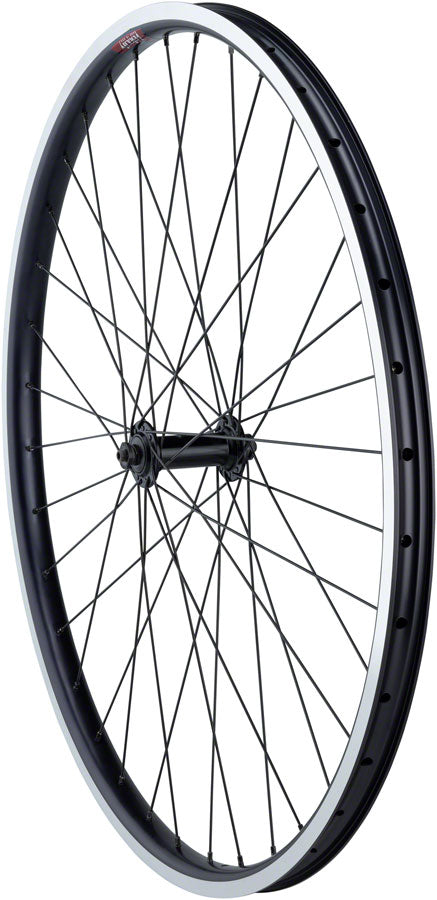 Quality Wheels Value HD Series Front Wheel - 700, QR x 100mm, Rim Brake, Black