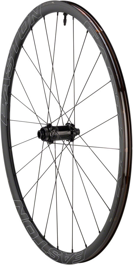 Easton EA90 SL Disc Front Wheel - 700, 12/15/QR x 100mm, Center-Lock, Black, Clincher