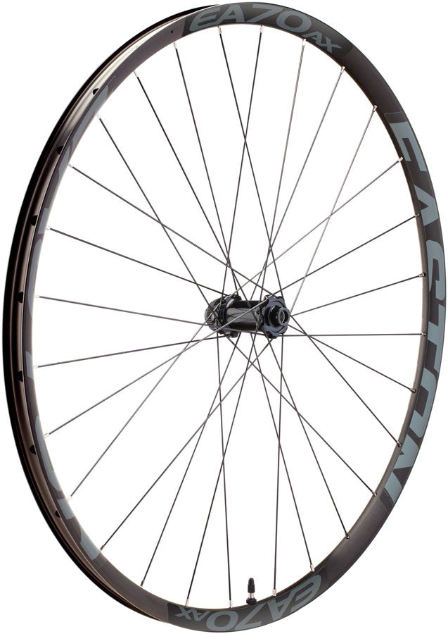 Easton EA70 AX Front Wheel - 650b, 12 x 100mm, Center-Lock, Black