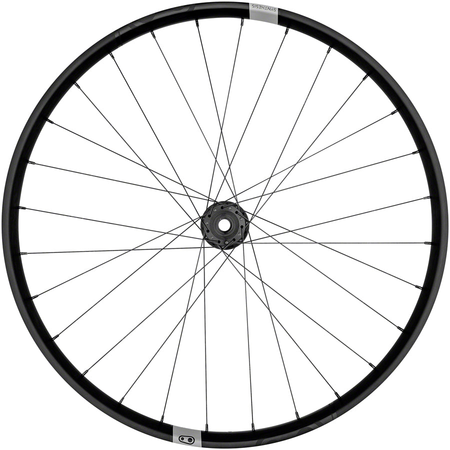 Crank Brothers Synthesis E I9 Alloy Front Wheel - 27.5, 15 x 110mm, 6-Bolt, Black