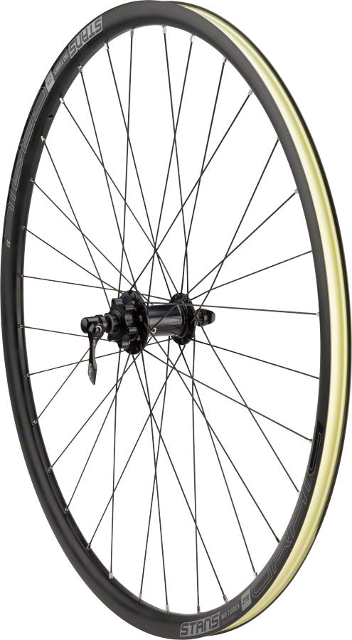 Stan's No Tubes Grail S1 Front Wheel - 700, QR x 100mm, 6-Bolt, Black
