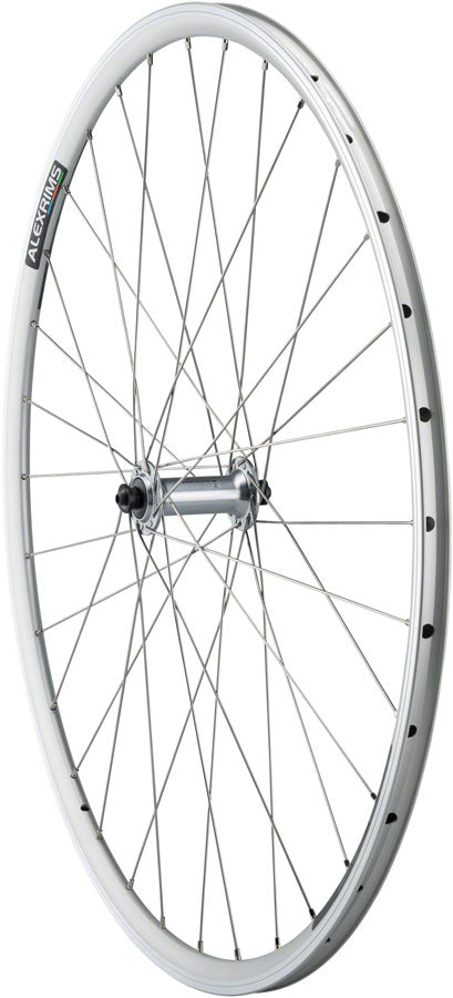 Quality Wheels Tiagra/DA22 Front Wheel - 700, QR x 100mm, Rim Brake, Silver, Clincher