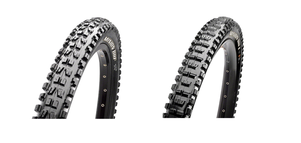 Maxxis Minion DHF 29x2.3 and DHR II 29x2.3 Tire Combo EXO Tubeless Ready 2C