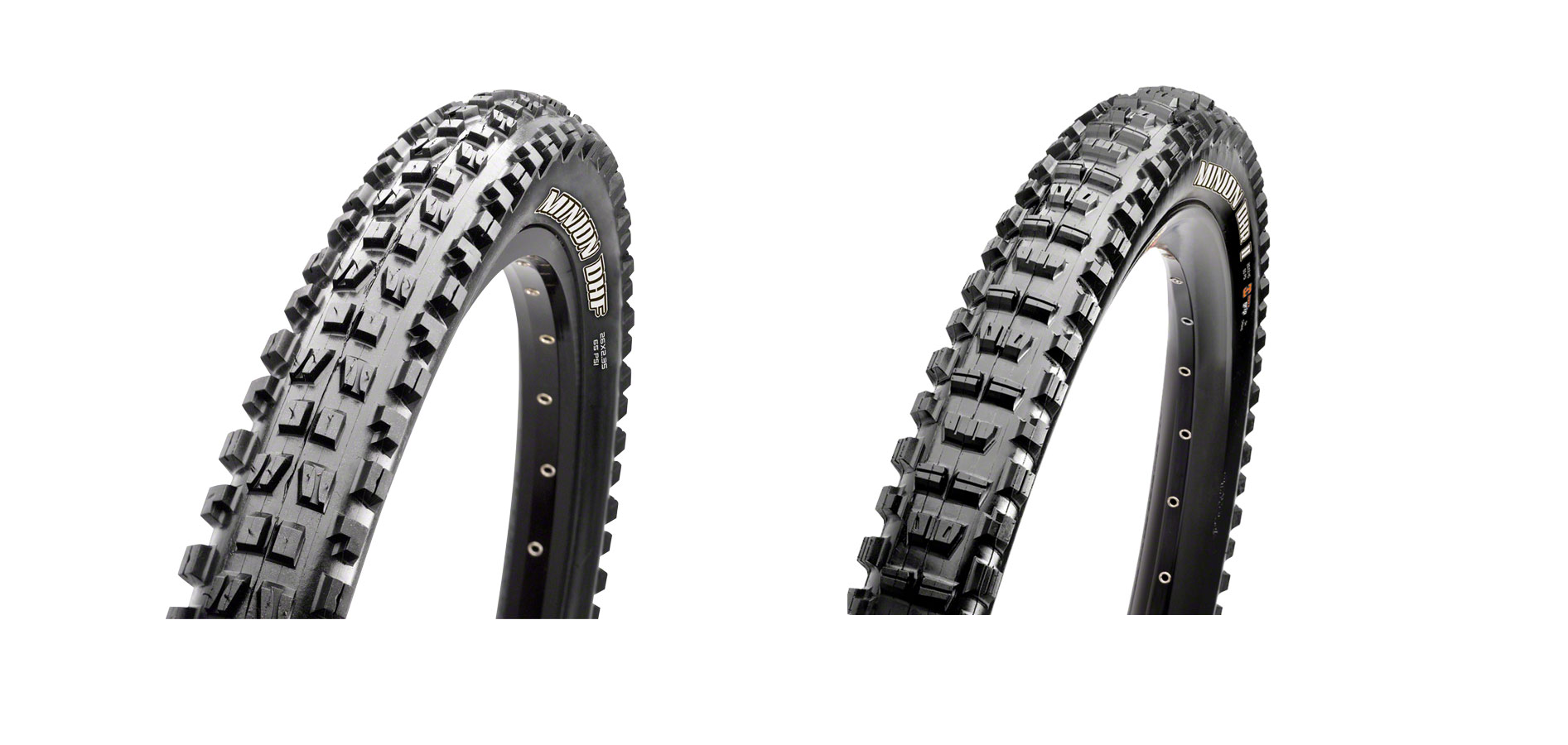 Maxxis Minion DHF 29x2.3 and DHR II 29x2.3 Tire Combo EXO Tubeless Ready 2C MPN: TB96785000, TB96776000 Tires Minion DHF Tire
