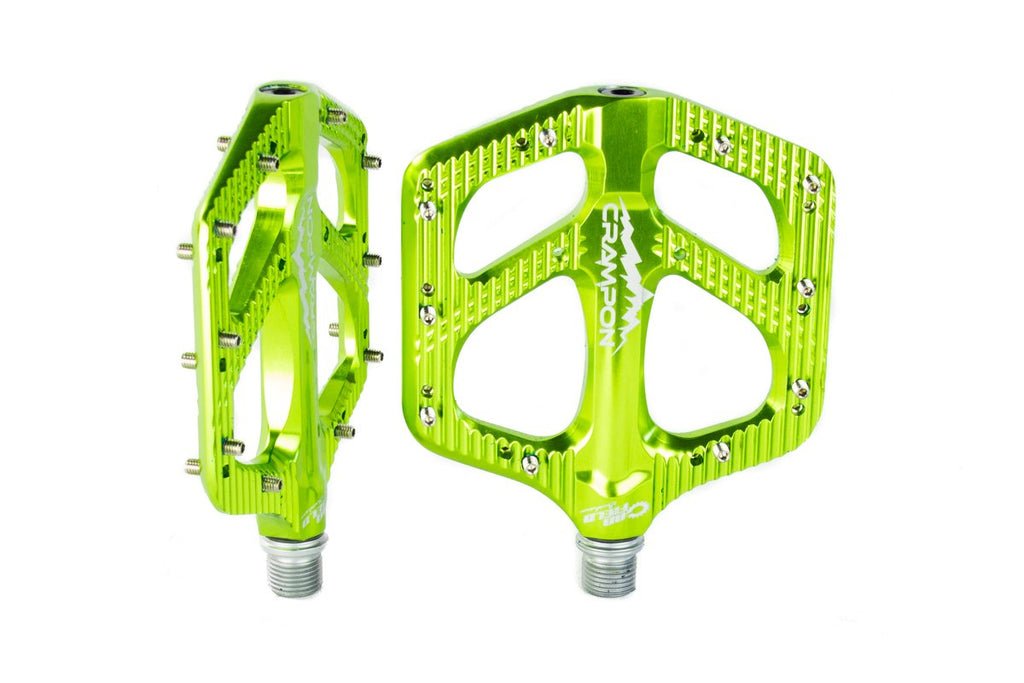 Canfield Bikes Crampon Mountain Pedals Fern Lime Green