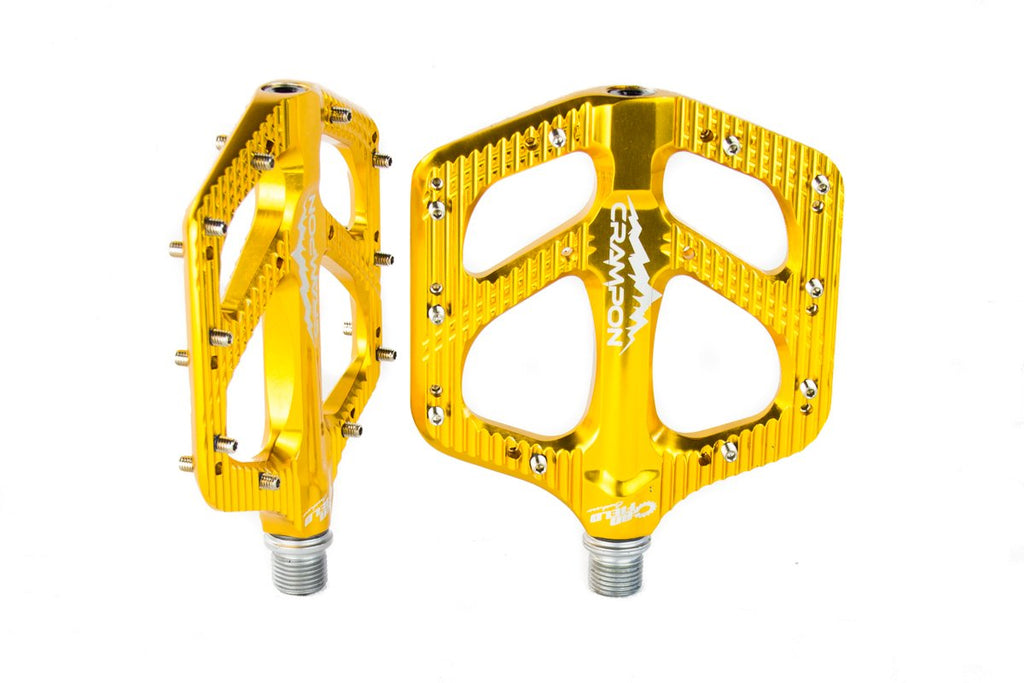 Canfield Bikes Crampon Mountain Pedals Gold