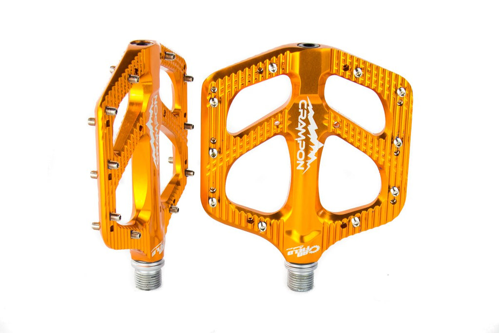 Canfield Bikes Crampon Mountain Pedals Orange