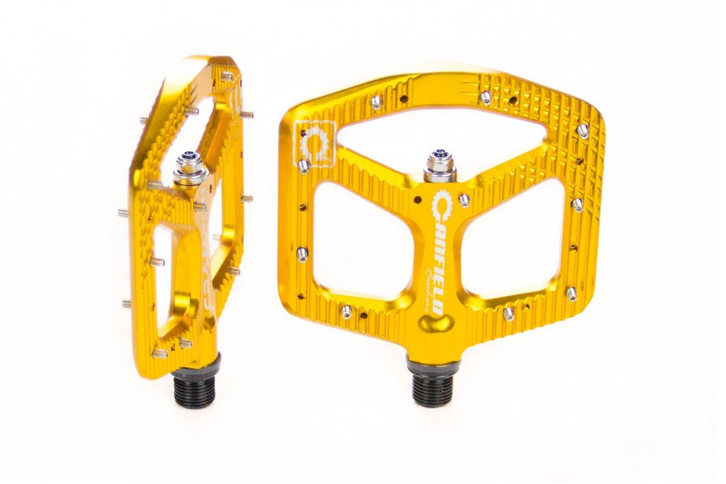 Canfield Bikes Crampon Ultimate Pedals Gold