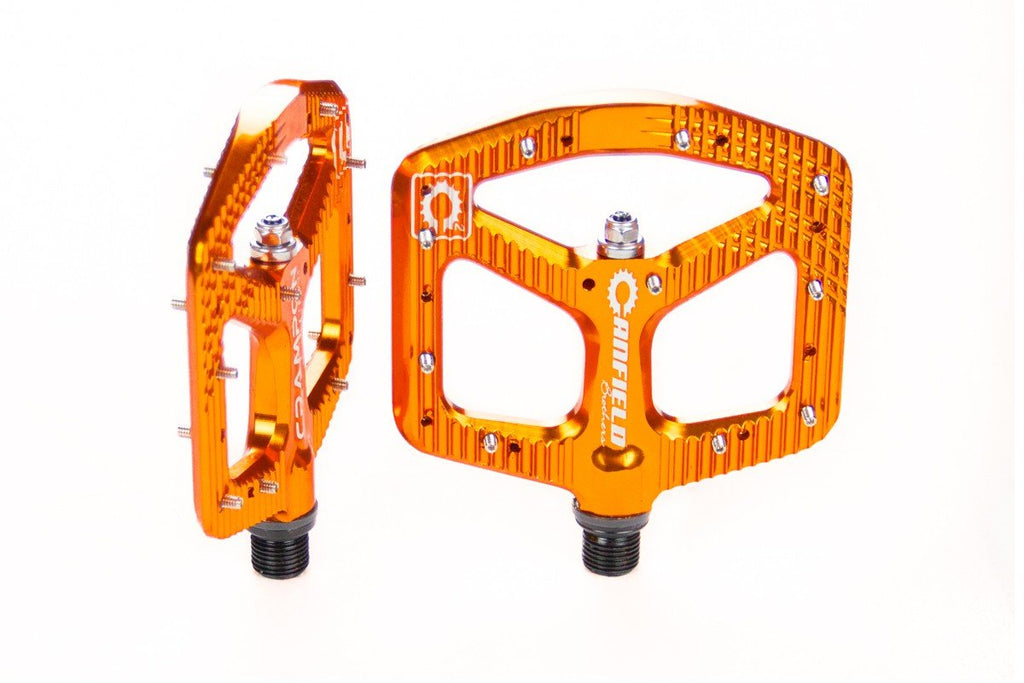 Canfield Bikes Crampon Ultimate Pedals Orange