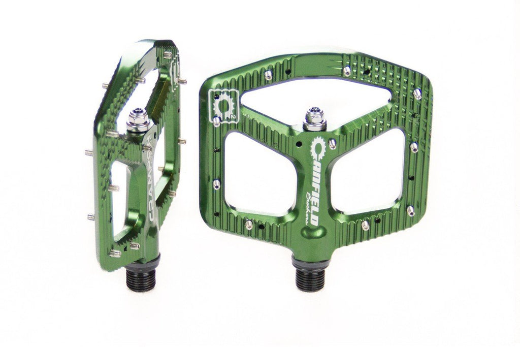 Canfield Bikes Crampon Ultimate Pedals PNW Dark Green