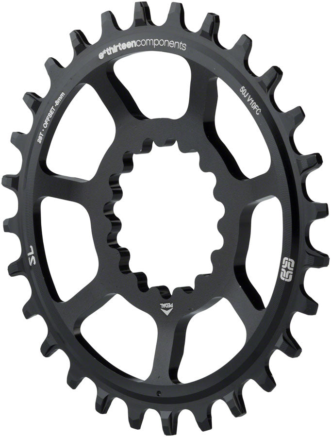 e*thirteen Direct Mount SL Guide Ring 28t Narrow Wide, Black MPN: CR3UNA-100 Direct Mount Chainrings SL Guidering