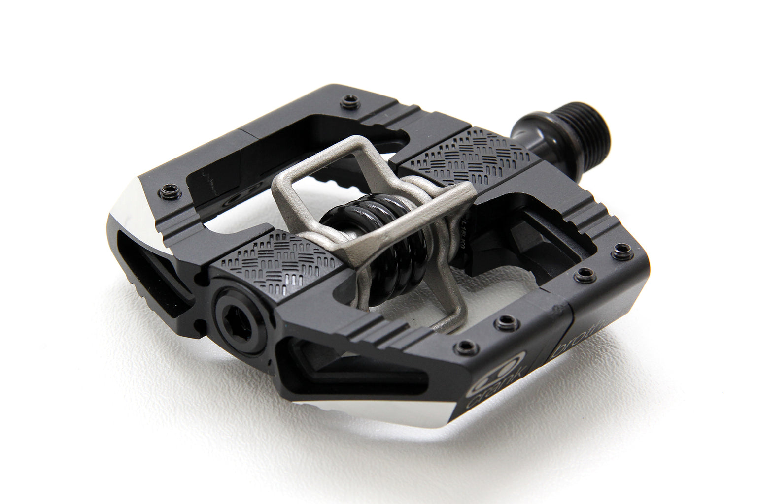 "Crank Brothers Mallet Enduro Pedals - Dual Sided Clipless with Platform, Aluminum, 9/16"", Black MPN: 15990 UPC: 641300159908 Pedals Mallet E Pedals"