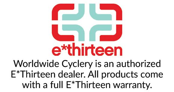 e*thirteen 20mm Endcap Set Fits TRS, LG1, and Chub DH Front Hubs, Black - Other Hub Part - End Cap Kits