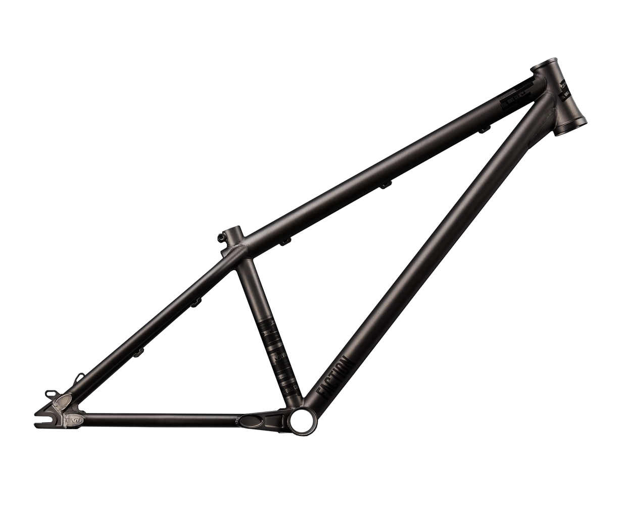 Evil Faction 2 Dirt Jumper Frame Only - Raw Black Rust (S,MD,LG) - Mountain Frame - Faction 2