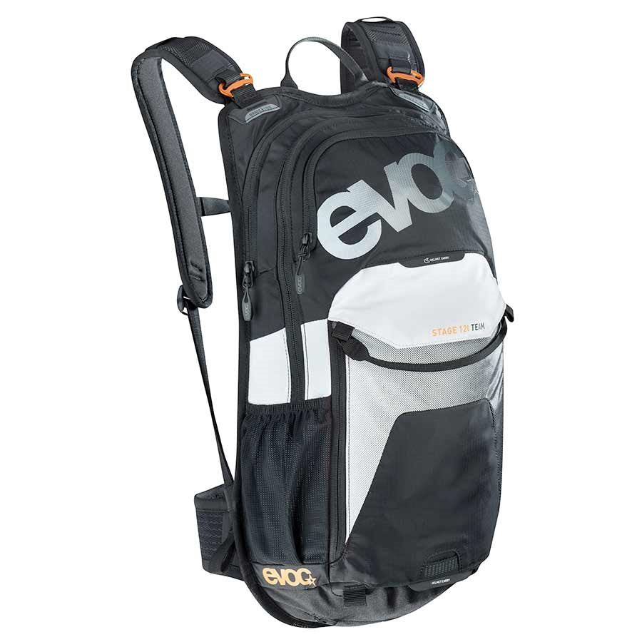 EVOC Stage 12 Hydration Pack - 12L Volume - Black/White/Orange