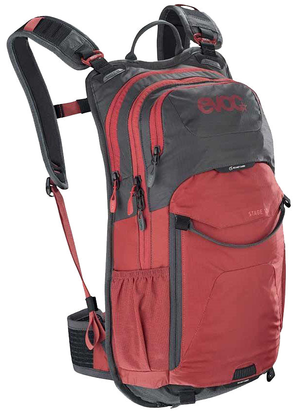 EVOC Stage 12 Hydration Pack - 12L Volume - Grey/Red MPN: 100204126 Hydration Pack Stage