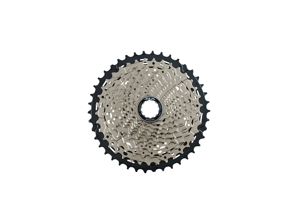 Shimano SLX CS-M7000 Cassette - 11 Speed, 11-42t, Silver/Black