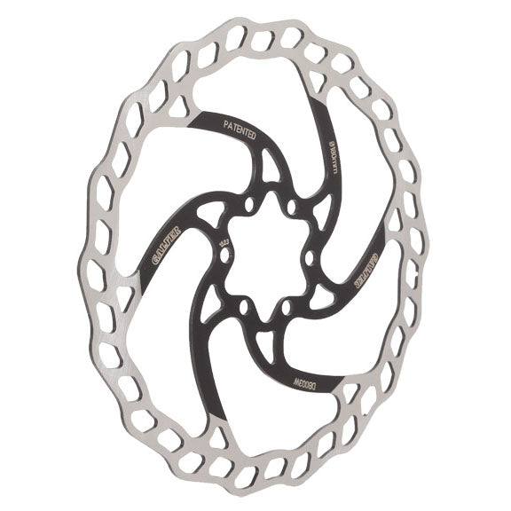 Galfer Disc Wave Disc Brake Rotor, 180mm Black/Silver MPN: DB003W Disc Rotor Wave
