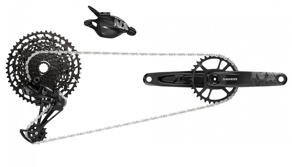 SRAM NX Eagle DUB 165mm 32t Set w/ Cassette, Shifter, Derailleur, Chain