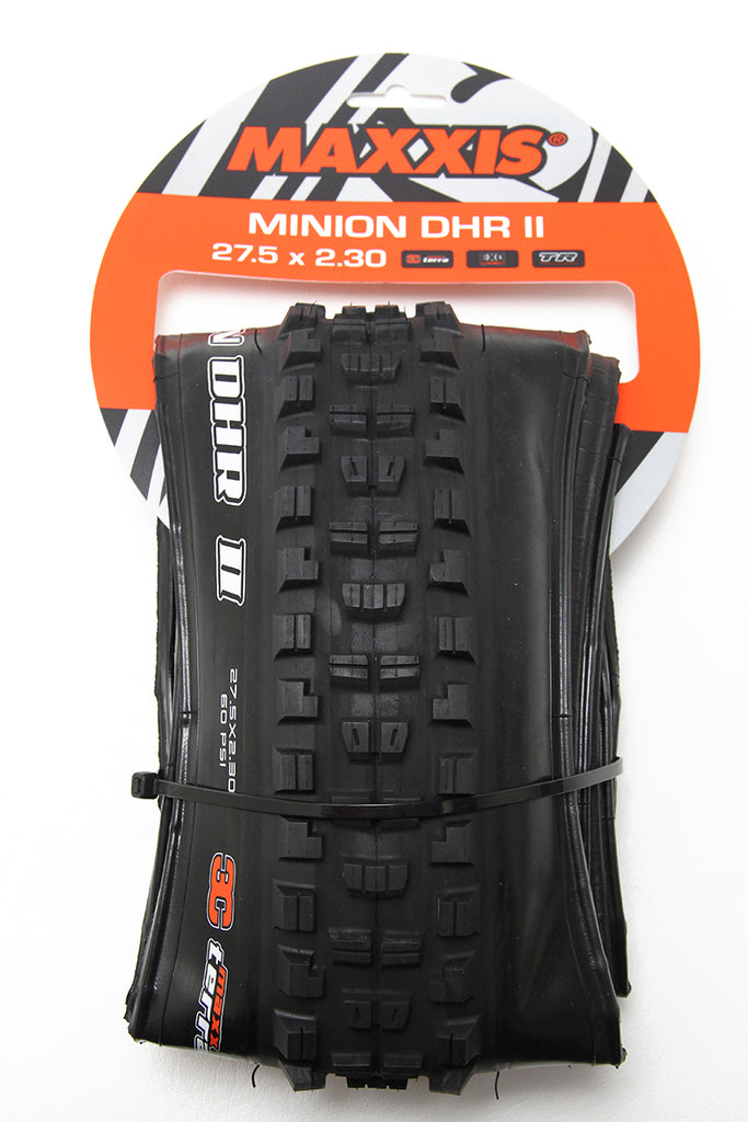Maxxis Minion DHR II Tire - 27.5 x 2.3, Tubeless, Folding, Black, 3C Maxx Terra, EXO - Tires - Minion DHR II Tire