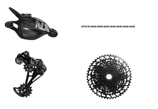 SRAM NX Eagle 12-Speed Groupset with Cassette, Shifter, Derailleur and Chain