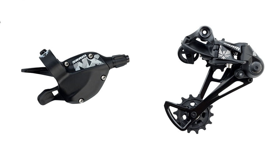 SRAM NX Eagle Trigger Shifter & Rear Derailleur, 12 Speed, Black