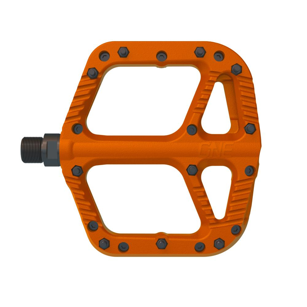 OneUp Components Comp Platform Pedals, Orange