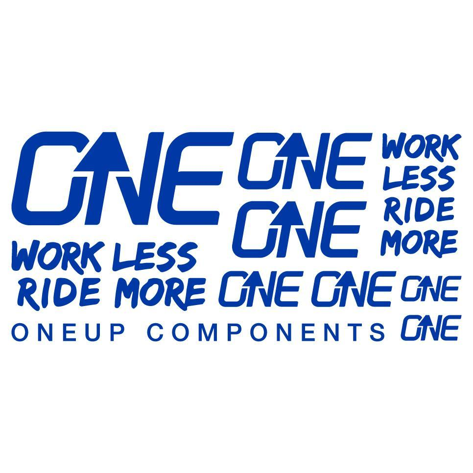 OneUp Components Handlebar Decal Kit-Blue MPN: 1C0629BLU Sticker/Decal Decal Kit