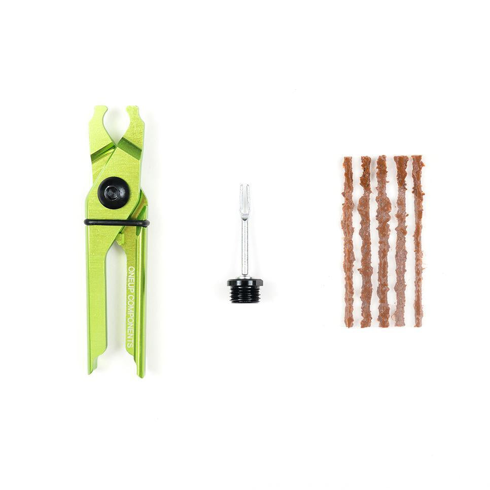 OneUp Components EDC Plug & Pliers Kit, Green - Headset Tool - EDC